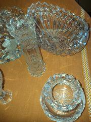 Deko - Kristall - Gefäße