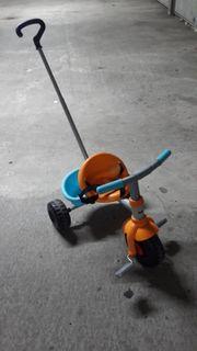 Kinder Dreirad mit Schubstange