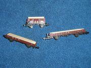 Spur N Güterwagen Konvolut mit