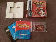Nintendo GBA Pokemon Rubin OVP