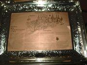 Große Lebkuchen Blechdose - Kiste - Truhe
