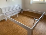 Bettgestell 180x200 cm Holz Birke