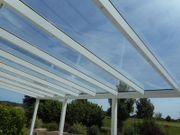 VSG-Dachgläser für Terrassenüberdachung- oder Carport