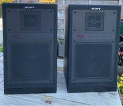 2 Lautsprecher Boxen Sony