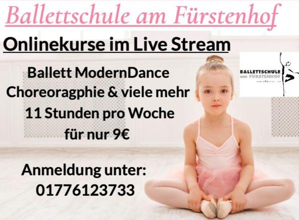Online Ballett Modern Dance u