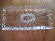 Glasschale rechteckig - aus Omas Schrank