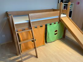 Kinder-/Jugendzimmer - PAIDI Hochbett Varietta-Vincent incl Lattenrost