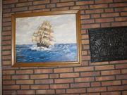 Segelschiff Öl auf Leinwand