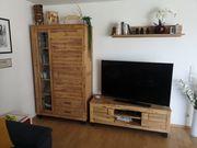 Zandiara 3tlg Wohnwand aus Akazienholz