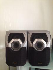2xPanasonic Lautsprecher 100 Watt