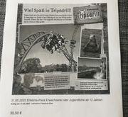 Eintrittskarte Tripsdrill 31 05 2020