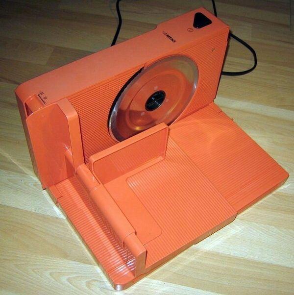 Vintage Allesschneider - Orange - Siemens - Brotmaschine