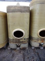 Wassertank Regenwassertank 2 500 L