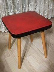 Sitzhocker Hocker Stuhl Rockabilly Ära