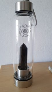 Edelstein Glasflasche NEU zu verkaufen
