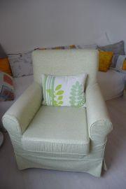 Sessel mit abnehmbarer Husse und