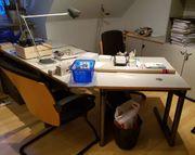 Werndl Steelcase Schreibtischanl ab 190