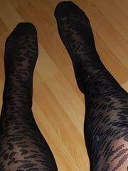 Verkauf getragene Socken und Strümpfe