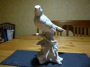 Kaiser Kunstfiguren biskuit Porzellan Vogel