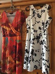 2 schöne Sommerkleider Größe 38