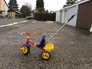 Kettler Dreirad verstellbar mit Schiebestange