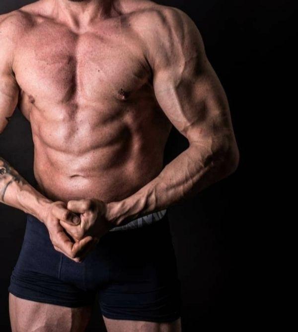 Sportlich gebauter Mann sucht Frau