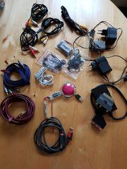 Kabel und Adapter in grosser