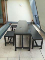 DEDON SOHO Tisch Bank Stühle