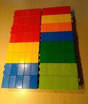 Lego Duplo Bausteine blau rot