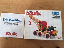 Holzspielzeug - Lorenz Baufix 1125 Konstruktions - Bausatz