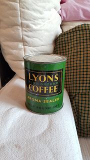 Vintage LYONS Pure Ground Coffee