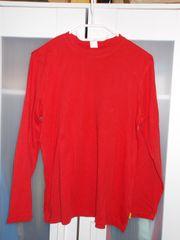 Jungen-Langarm-Shirt rot Gr 164 170