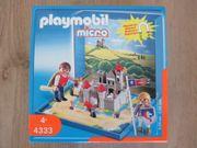 PLAYMOBIL Microwelt Ritterburg 4333