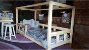 Hausbett Mit Barriere Kalia Für