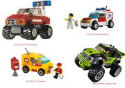 LEGO CITY Autos 7241 - 7902 -