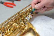 Saxophon-Klarinetten-Querflöten Reparaturen