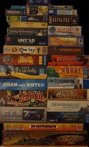 Spielesammlung Brettspiele Familienspiele Gesellschaftspie