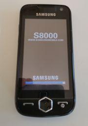 Handy Samsung S8000 voll funktionsfähig
