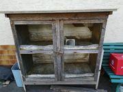 Kleintier-Stall reperatur bedürftig