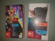 Nintendo Switch Konsole mit Mario