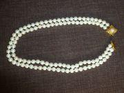 Perlenkette doppelreihig