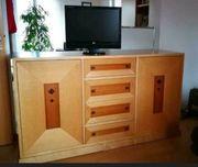 Preisreduzierung Side-TV-Board aus Massivholz Sonderanfertigung