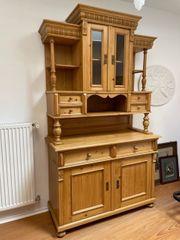 Schönes Küchenbüffet Küchenschrank Massivholz alt