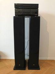 Stereoanlage komplett mit Receiver CD