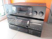 1 Stereoanlage Kenwood Bausteine Komplettset