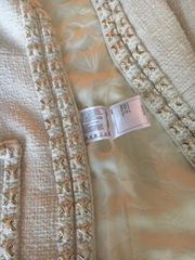 Chanel Blazer in Beige Gr