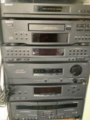 Sony komplettanlage mit Plattenspieler