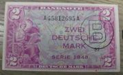 1948 2 Mark Banknote unc