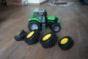Traktor Anhänger Förderband