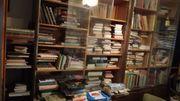 Umfangreiche Bibliothek zu verkaufen Bücher
